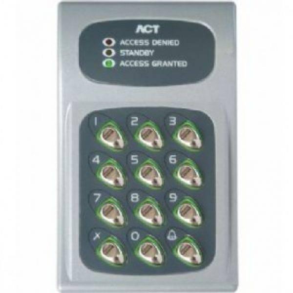 act 10 keypad