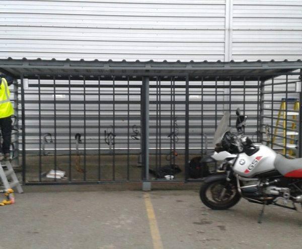 Bike Storage Access Control System Installation